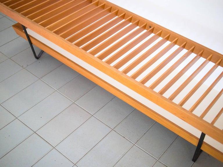 1950s Bench / Auxiliary Table in Pau Marfim Wood by Acácio Gil Borsoi, Brazil For Sale 1