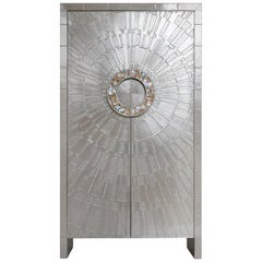 Talitha Nickel Armoire