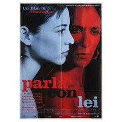 Talk to Her 2002 Italian Due Fogli Film Poster