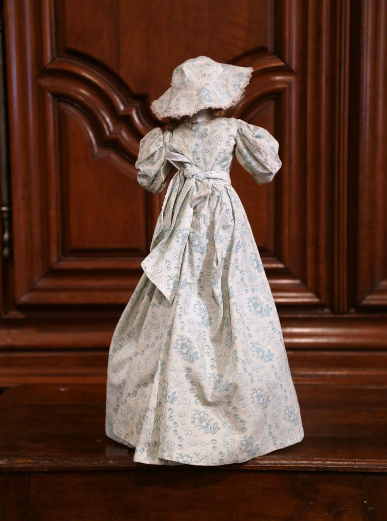 Tall 19th Century French Porcelain Musical Automaton Jumeau Doll For Sale 1
