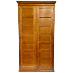 Tall and Elegant French Oak Cabinet or Armoire