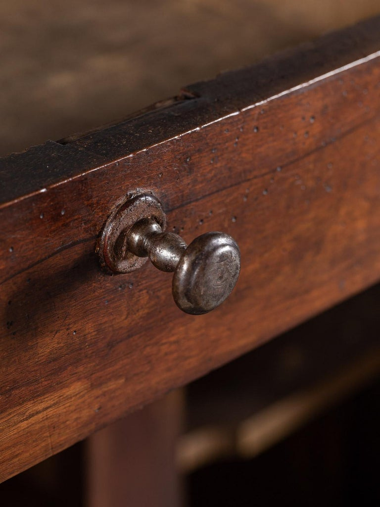 Tall Antique French Walnut Buffet Credenza, circa 1820 For Sale 3