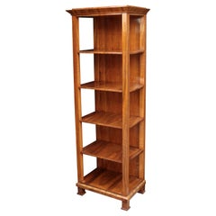 Tall Biedermeier Bookshelf