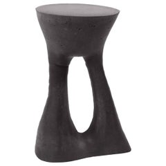 Tall Charcoal Kreten Side Table from Souda, in Stock