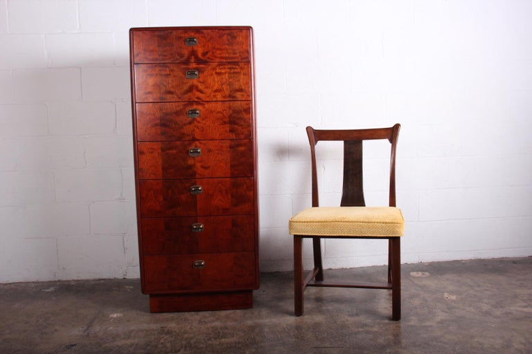 Tall Chest by Edward Wormley for Dunbar For Sale 8