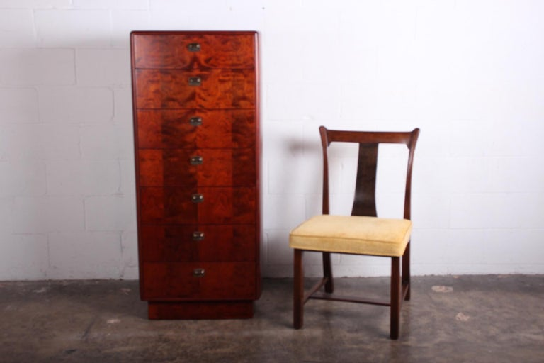 Tall Chest by Edward Wormley for Dunbar For Sale 9