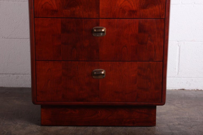 Mid-20th Century Tall Chest by Edward Wormley for Dunbar For Sale