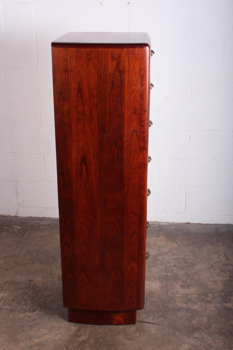 Tall Chest by Edward Wormley for Dunbar For Sale 2