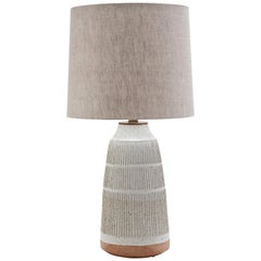 Tall Column Lamp by Mt. Washington Pottery for Lawson-Fenning