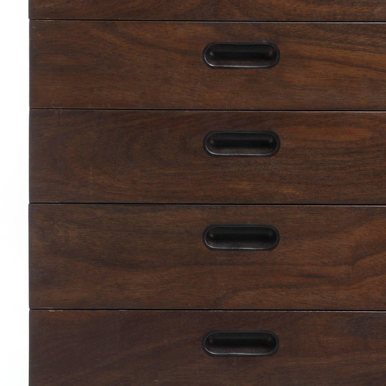 Mid-Century Modern Tall Dresser by Edward Wormley For Sale