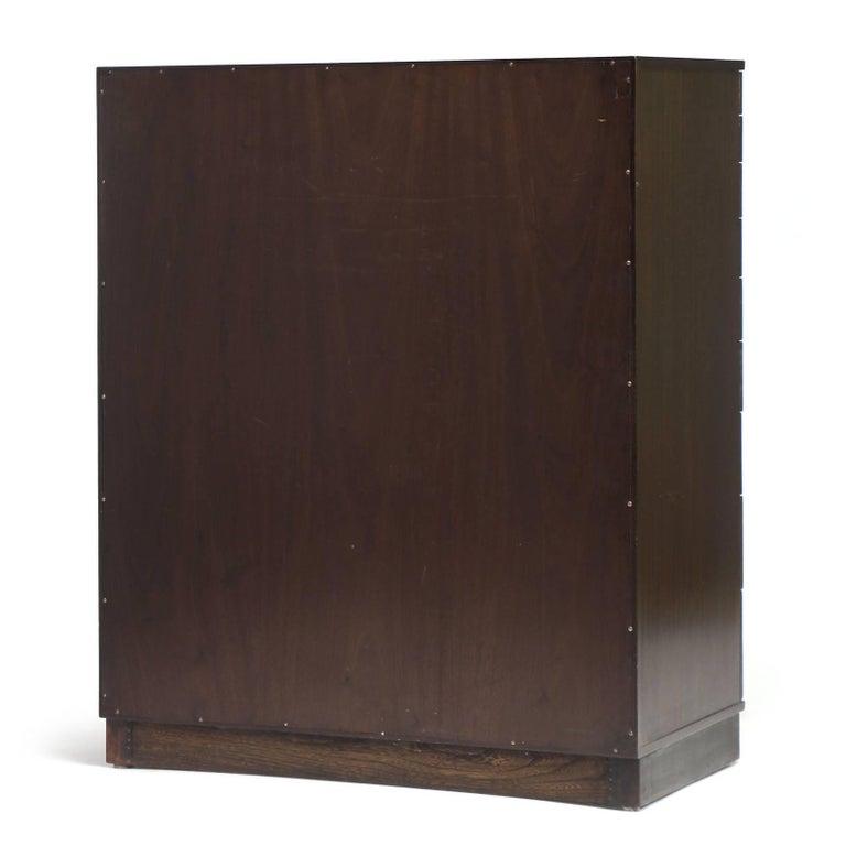 Walnut Tall Dresser by Edward Wormley For Sale