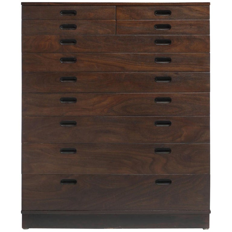 Tall Dresser by Edward Wormley For Sale