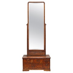 Tall Dressing Table Mirror, 19th Century