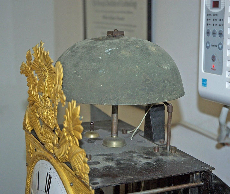 Tall French Louis XVI Long Case Clock w/ Walnut Case, circa 1790  For Sale 13
