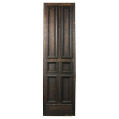 Tall French Oak Six Panelled Door or Panel, 20th Century