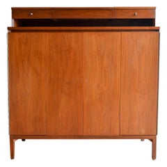 Tall Gentlemen's Chest in Walnut by Paul McCobb, circa 1960