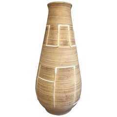 Tall German Geometric Design Vase
