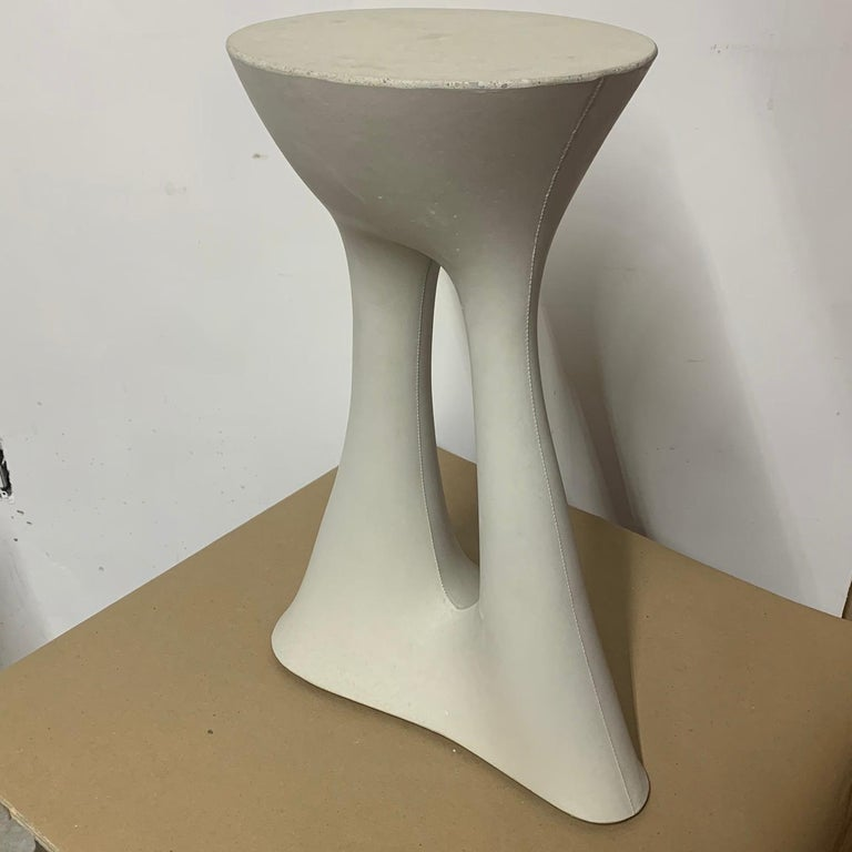 Modern Tall Grey Kreten Side Table from Souda, Factory 2nd For Sale