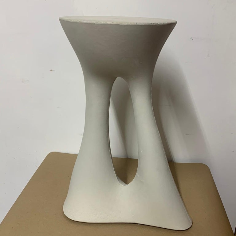 Contemporary Tall Grey Kreten Side Table from Souda, Factory 2nd For Sale