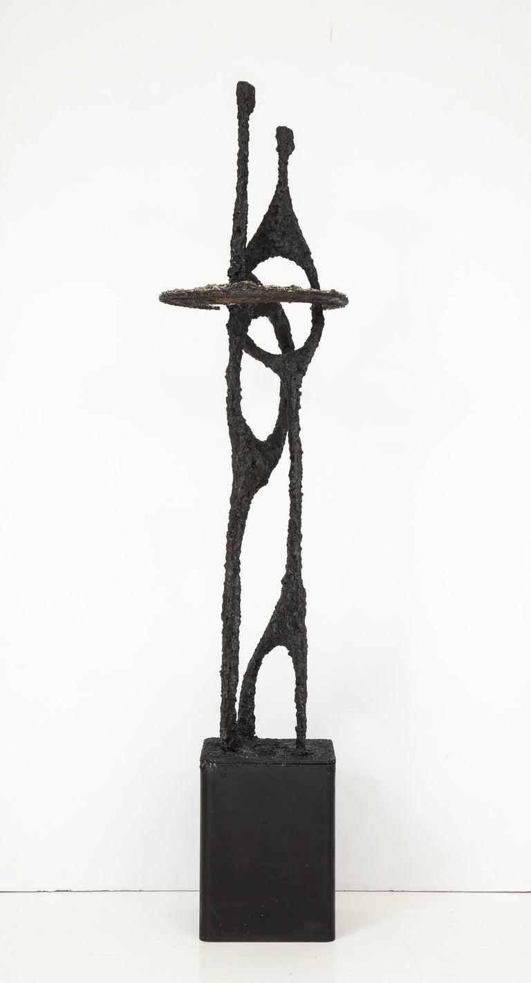 Brutalist Tall James Bearden Sculpture