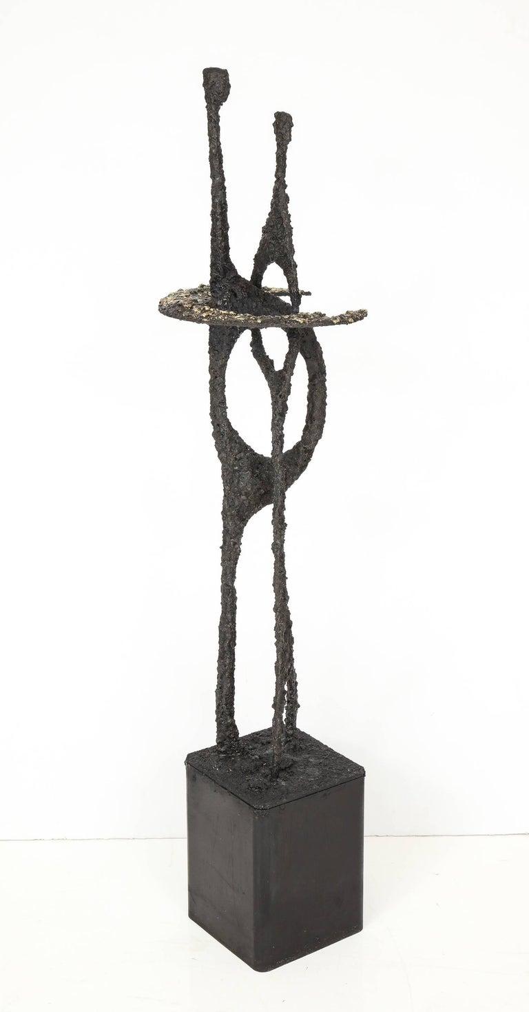 American Tall James Bearden Sculpture