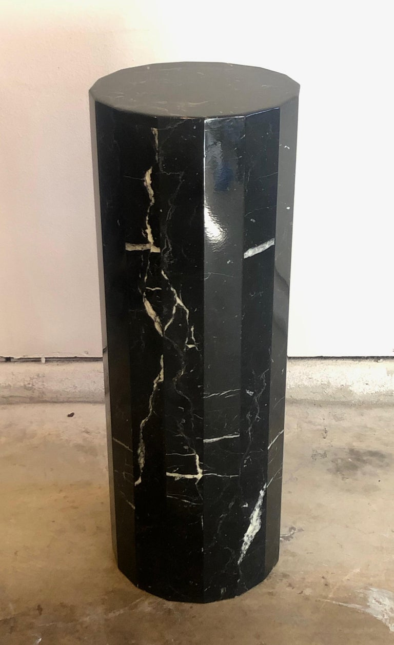 Tall Marble Pedestal For Sale 3