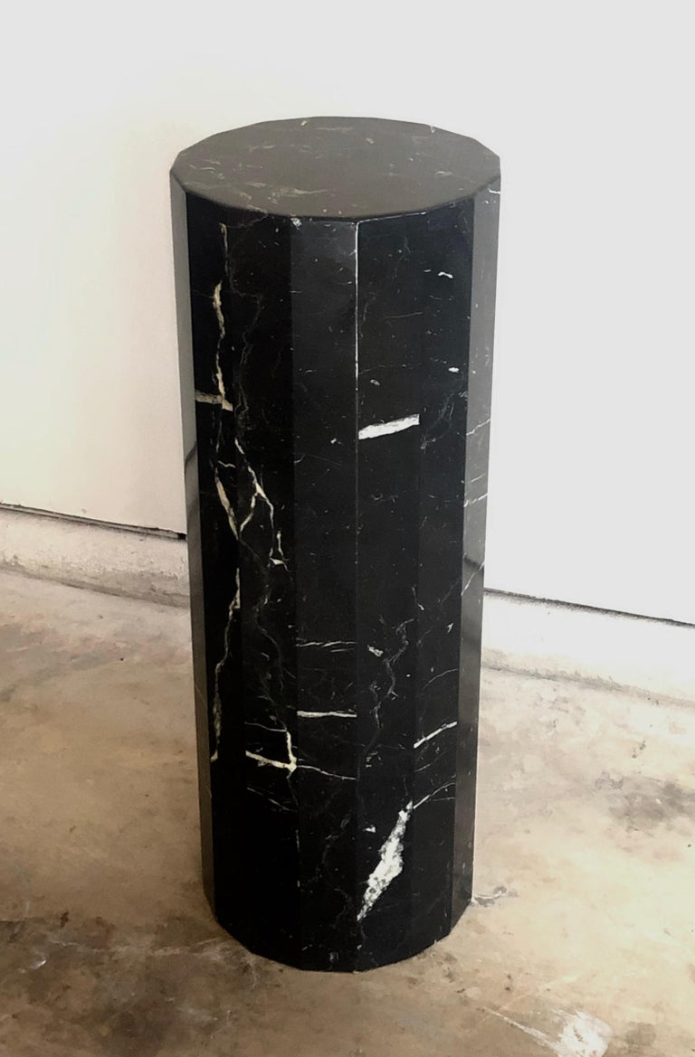 Tall Marble Pedestal For Sale 4