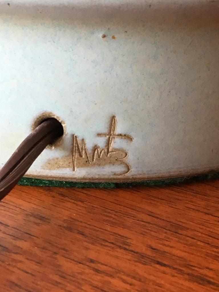Ceramic Tall Martz Lamp for Marshall Studios For Sale