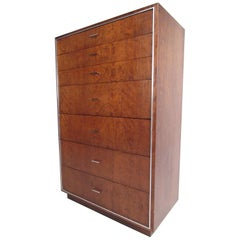 Tall Midcentury Highboy Dresser by John Stuart Inc