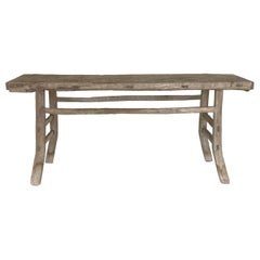 Tall Rustic Altar Table