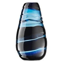 Tall Sassi Murano Glass Vases by Luciano Gaspari