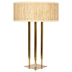 "Tall Stiffel Tommi Parzinger Style ""Column"" Table Lamp"