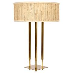"Tall Stiffel Tommi Parzinger Style ""Columns"" Table Lamp"
