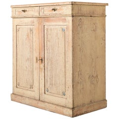 Tall Swedish Late Gustavian Sideboard in Pine