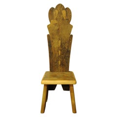 Tall Throne Chair