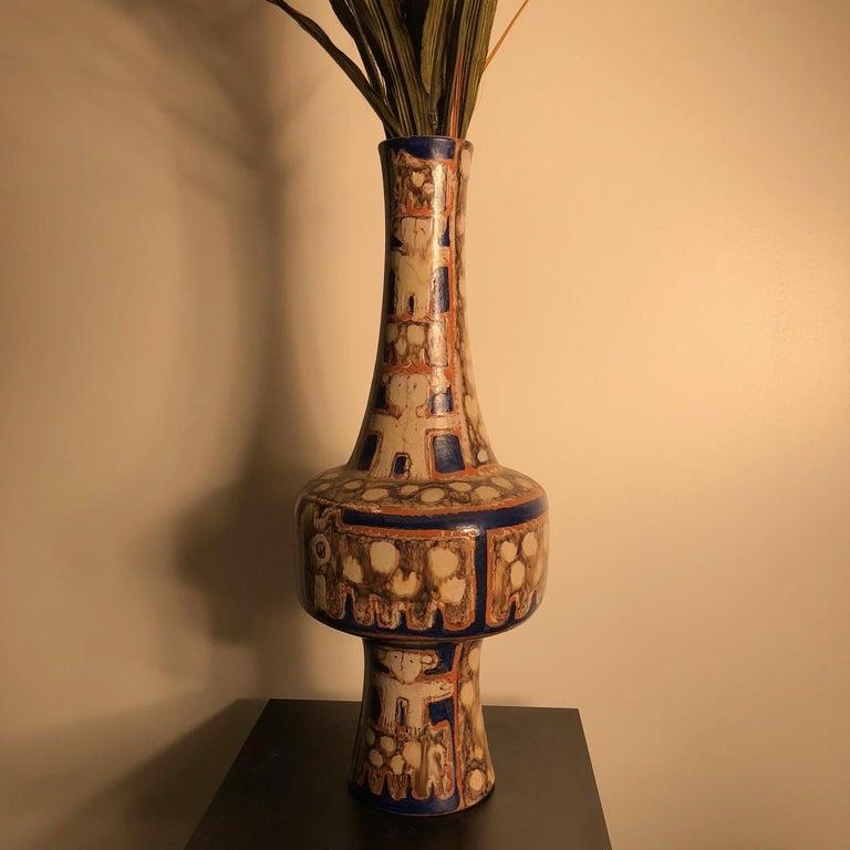 Tall  Whimsical Vase-Lamp Base Teddy Bear & Friends Handmade Eva Fritz-Lindner For Sale 9