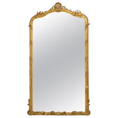 Tall 19th Century Giltwood Mirror