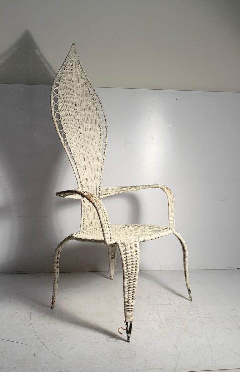 20th Century Tropi-Cal Danny Ho Fong and Miller Fong Mid-Century Modern Garden Patio Chair For Sale