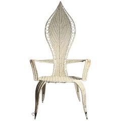 Tropi-Cal Danny Ho Fong and Miller Fong Mid-Century Modern Garden Patio Chair