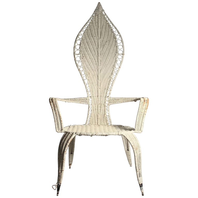 Tropi-Cal Danny Ho Fong and Miller Fong Mid-Century Modern Garden Patio Chair For Sale