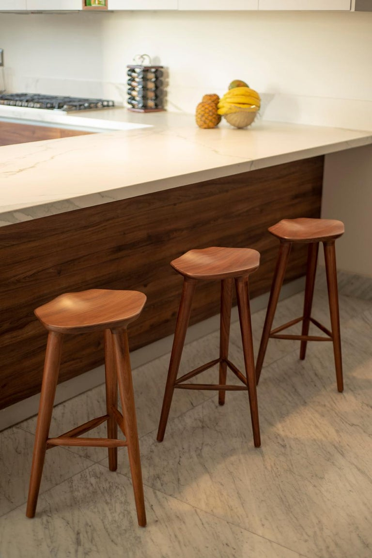 Tam Counter Stool, Ash In New Condition For Sale In Zapopan, Jalisco