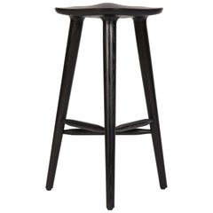 Tam Counter Stool, Black Lacquered Ashwood