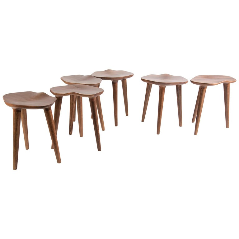 Tam Stool, Tzalam Wood For Sale