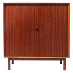 Tambour Cabinet by Peter Hvidt & Orla Mølgaard-Nielsen