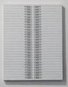 Tamiko Kawata, Paper Clips-S1, Paper clips sculpture, 2016