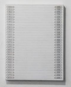 Tamiko Kawata, Paper Clips-S2, Paper clips sculpture, 2016