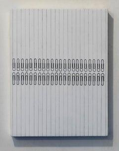 Tamiko Kawata, Paper Clips-S3, Paper clips sculpture, 2016