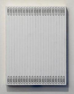 Tamiko Kawata, Paper Clips-S4, Paper clips sculpture, 2016
