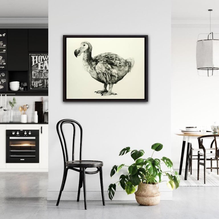 Rowland's Dodo (Version II) BY TAMMY MACKAY, Animal Art, Contemporary Prints For Sale 8