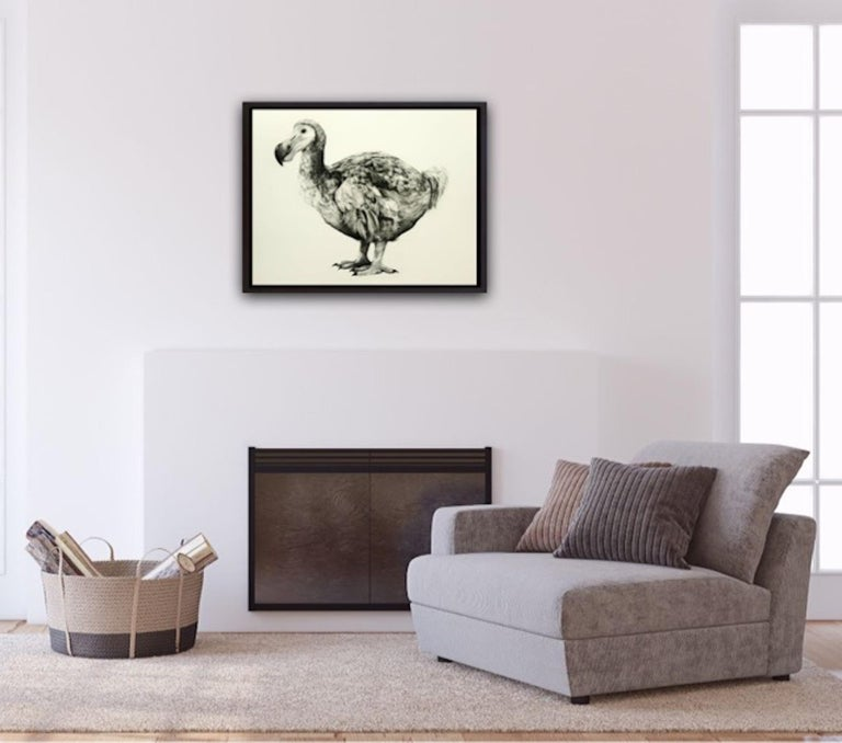 Rowland's Dodo (Version II) BY TAMMY MACKAY, Animal Art, Contemporary Prints For Sale 9